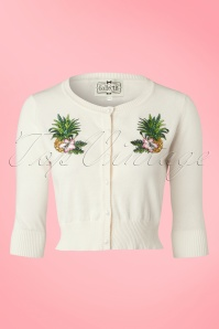 Collectif Cloting Lucy Pineapple Cardigan 17733 20151117 0007W