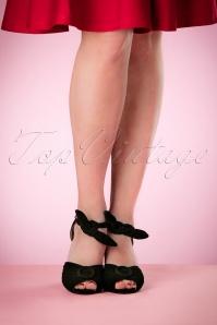 Miss L Fire Loretta Black Sandals 402 10 17176 03242016 011W