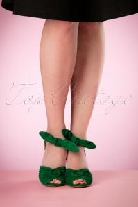 Miss L Fire Loretta Green Sandals 402 40 17177 03242016 008W
