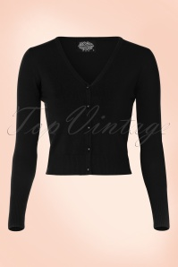 50s Eva Cardigan in Black