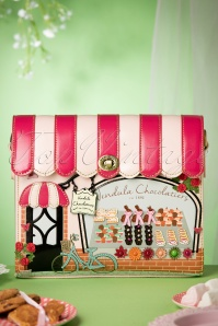 50s Vintage Chocolatiers Store Bag