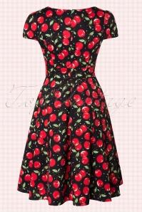 Dolly and Dotty Claudia Flirty Black Cherry Dress 102 14 18769 20160330 0003W