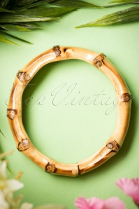 Lady Lucks Boutique Bamboo Chunky bangle 310 70 18639 04012016 002W
