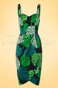 Collectif Clothing Mahina Tahiti Pencil Dress 100 14 17651 20160404 0005W