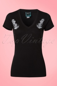 Sugar And Cake Sweet V Anchor T Shirt 111 10 18434 20160406 0007W