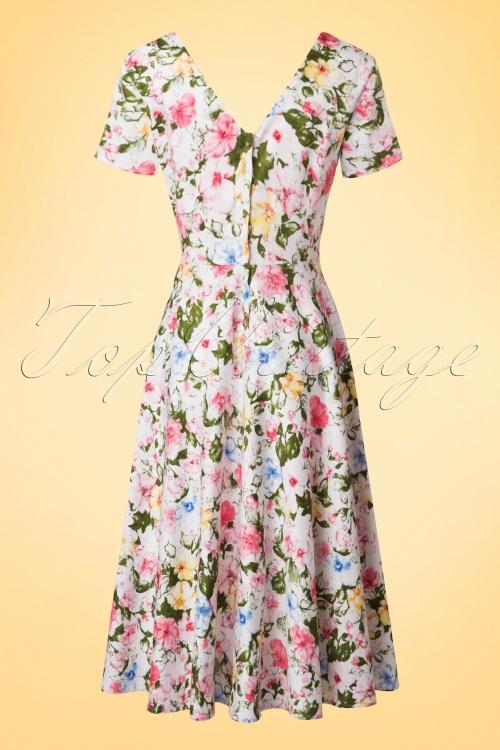 ef39f2fa8e05 Collectif Cloting Maria Artistic Floral Swing Dress 17721 20151119 0007W