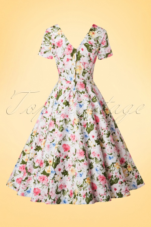 4783acac478a Collectif Cloting Maria Artistic Floral Swing Dress 17721 20151119 0002W