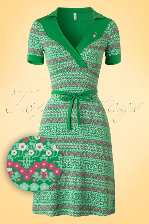 Blutsgeschwister Love and Tenderness Dress Green 106 49 16927 20160408 0002W1