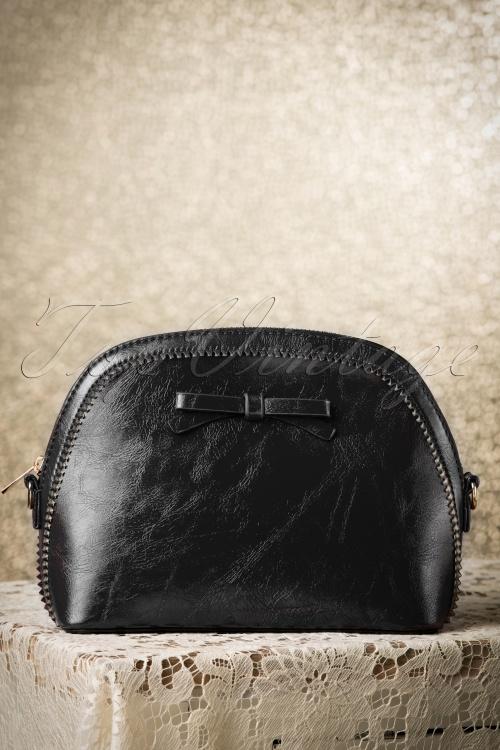 Kaytie Black 50s Bow Bag 216 10 18597 12082015 001W