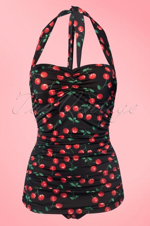 classic fifties badpak Cherry Black