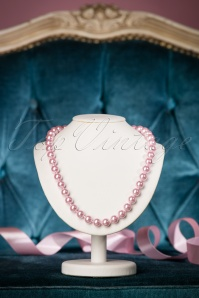 Collectif Clothing DAinty Pearl Nacklace in Pale Pink 300 22 18972 04062016 023W