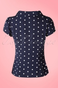 Fever Navy White Garland Top 111 39 17370 04112016 012 2w
