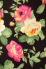 Vintage Chic Scuba Summer Flower Black Pencil Dress 100 14 19036 20160412 0010