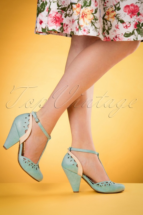 Bettie Page Shoes Elsie T strap Blue 401 30 17095 04132016 004retouchedW