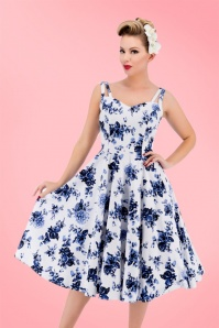 Hearts and Roses White Blue Floral Dress 102 59 17141 20160415 1