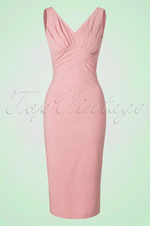 Kleid vintage pink