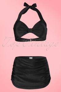 Esther Williams Classic Black Bikini 19010 19009 20130725 0002W