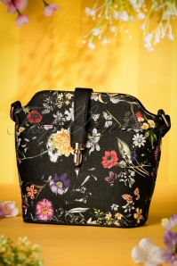 Milan Black Floral Bag 216 14 19148 04182016 008W