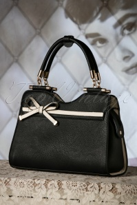La Parisienne 40s Audrey Bag in Black 212 10 19140 04182016 024W