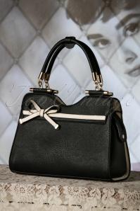 La Parisienne 40s Audrey Bag in Black 212 10 19140 04182016 024W