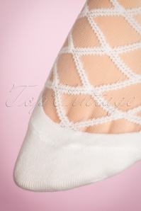 Juliette's Romance Victoria Socks in White 179 50 18957 20160420 0006W