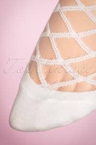 Juliette's Romance Victoria Socks in White 179 50 18957 20160420 0006W