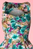 Hearts and Roses Tropical Floral Swing Dress 102 59 18406 20160426 0004V
