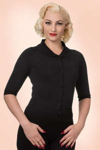 Dancing Days by Banned Black Polly Cardigan  140 40 17809 1