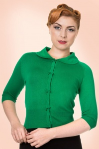 Dancing Days by Banned Green Polly Cardigan  140 40 17810 20160502 1