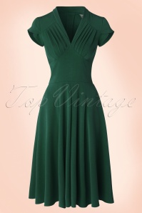 Miss Candyfloss Odette Dress in Grain Green 102 20 17944 20160301 0006W
