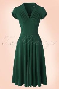 Miss Candyfloss Odette Dress in Grain Green 102 20 17944 20160301 0006W
