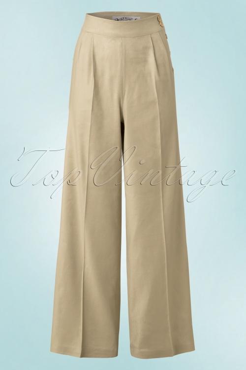 Bunny Honeybear Camel Trousers 31 52 18289 20160509 0011W