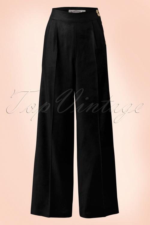 Bunny Honeybear Black Trousers 131 10 18290 20160512 01W