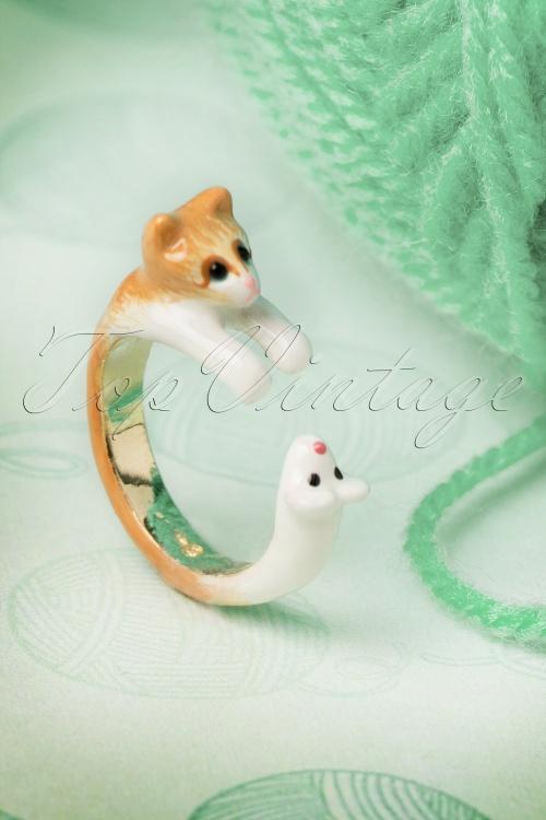 Les Néréidres  Cat and Mouse Ring 320 21 18471 20160513 0012W