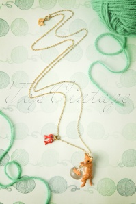 Les Néréidres  Cat and Fishbowl Necklace 301 21 18470 20160511 0026W