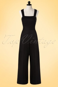 Bunny Penny Dungar Jumpsuit Black 139 10 18263 20160512 0007WDoll
