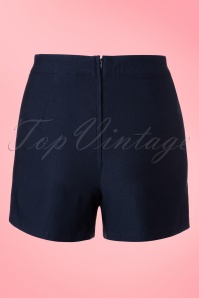Vixen Navy Blue Shorts 130 31 18592 20160513 0011W