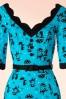 Vixen Cat in the Rain Blue Pencil Dress 100 39 17961 20160513 0002V