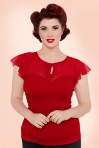 Vixen Red Sweetheart Lace Top 110 20 17974 20160513 0008