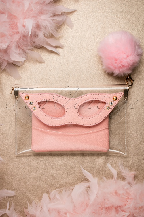 The pink Collar Life Mansfield Pink Clutch 210 22 18305 05132016 033W