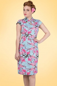Dancing Days by Banned Blossom Alice Pencil Dress 100 39 17814 20160526 1