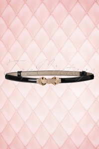 Dancing Days by Banned Black Gold Bow Belt 230 10 18703 05302016 011W