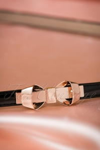 Dancing Days by Banned Black Gold Bow Belt 230 10 18703 05302016 002W