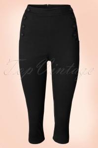 Vixen Becky Black Capri Pants 1134 10 18960 20160530 0007W