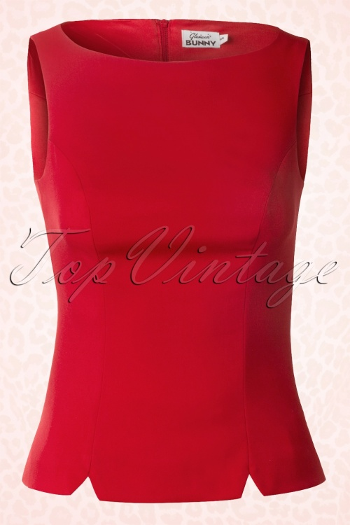 Glamour Bunny Shirt Top Red 110 20 13152 20140417 0007Wc