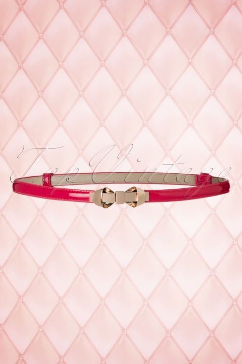 Dancing Days by Banned Hot Pink Gold Bow Belt 230 22 18702 05302016 005W