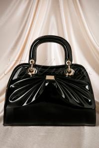 50s Scarlett Bow Handbag in Black