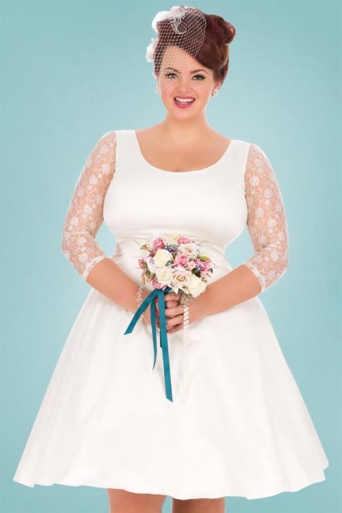 Lady V White Bridal Dress 19194 1