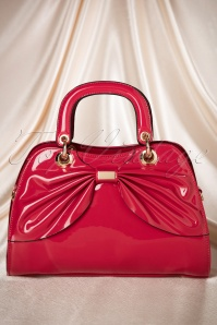 50s Scarlett Bow Handbag in Red