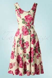 Lady V Charlotte Pink Rose Swing Dress 102 57 16071 20150702 0002W